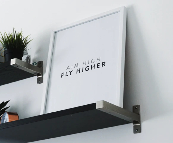 aim high, fly higher